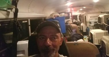 Truck Driver Saves Dogs From Hurricane cover